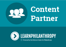 Content Partner - Learn Philanthropy